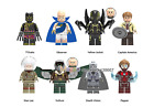 Lego Figures Super Heroes Infinity War Death Vision Pepper T