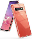 Samsung Galaxy S10, S10 Plus, S10e | Ringke [FUSION] Clear Shockproof Cover Case