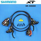 Shimano Deore XT BR M8000 MTB Mountain Disc Brakes Hydraulic Front & Rear Set