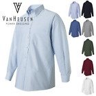 Van Heusen Mens Button Up Long Sleeve Oxford Dress Shirt 13V0040