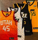 Donovan Mitchell #45 Utah Jazz City Edition /  All Colors Men's Stitched Jersey