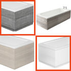 Bath Side & Front Panel for 1800 1700 Baths White Black Wood Effects