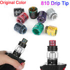 810 Drip Tip Epoxy Cobra Snake Skin Resin Mouthpiece Cap for TFV12-Prince