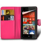 Nokia Lumia Various Models Flip Wallet Book Pouch Case Cover & Big Stylus