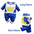 Внешний вид - Newborn Baby Boy Dragon Ball Z Costume Romper Vegeta Outfit Infant Playsuit Gift