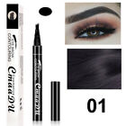 Women Eyebrow Pen Fork Tip Pencil Tattoo Microblading Long Lasting Makeup Beauty