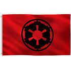 3x5 Foot Galactic Empire Star Wars Flag Banner Wall / Porch / Yard Decoration $14.95 USD on eBay