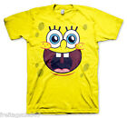 SPONGE BOB Face T-shirt T-shirt cotton officially licensed