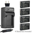 Kastar Battery AC Charger for CONTAX BP-1500S Tvs Digital & KYOCERA BP-1500S