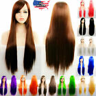 """31"""" Long Straight Fashion Cosplay Costume Party Hair Anime Wigs Full Hair Wig"""