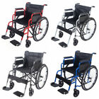 Panana Folding All AID Wheelchair Footrest Self Propelled Lightweight Transit UK