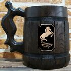 Prancing Pony Mug, Lord Of The Rings Wooden Beer Stein, Hobbit Mug, LOTR