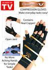 All Sizes Copper Hand Arthritis Gloves  Free Shipping