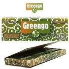Greengo 100% Natural Unbleached Chlorine Free Rolling Papers(New) Many Variation