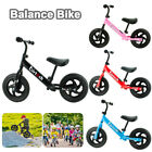'12 Children Kids Balance Bike Running Training Child Gift Boys Girls First Bike