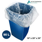 140G Clear Refuse Sacks Strong Bin Bags Rubbish Scrap Waste Recycling