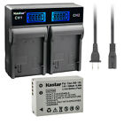 Kastar Battery LCD Rapid Charger for Canon NB-10L CB-2LC Canon PowerShot SX50 HS