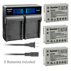 Kastar Battery LCD Rapid Charger for Canon NB-10L CB-2LC Canon PowerShot SX40 HS