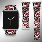 Carolina Hurricanes Apple Watch Band 38 40 42 44 mm Series 1 - 5 Wrist Strap 1 $32.99 USD on eBay