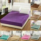 Large Bedspreads Warm Crystal Cashmere Bed Cover Mattress Protector Comforters image
