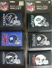 NEW NFL Football Trifold Nylon Wallet Official License Team Logo RICO INDUSTRIES on eBay