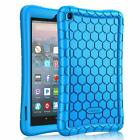 For Newest All-New Amazon Fire 7 9th Generation Tablet 2019 Silicone Case Cover