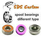 #1 FOR SHIMANO BFS SERIES SPOOL MICROCERAMIC BEARINGS / SEE MODEL LIST /