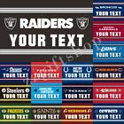 NFL Flag Text YOUR TEXT 3X2FT 5X3FT 6X4FT 100D Polyester Banner on eBay