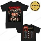 Slipknot And Volbeat Knotfest Roadshow 2019 T-Shirt Size Men Black Shirt Gildan image