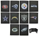 NFL Officially Licensed Tri-fold Printed Logo Leather Wallet Siskiyou Sports on eBay