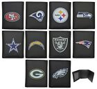 NFL Officially Licensed Tri-fold Printed Logo Leather Wallet Siskiyou Sports $13.99 USD on eBay