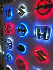 3 Colors Car LED Emblem LED Mark Car LED Logo Back Light for buick 8.7cm×8.7cm