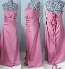 Berketex Bride Evening Prom Pageant Gown Wedding Pink Bridesmaid Dress UK 12-28
