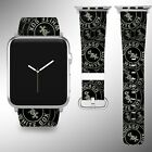 Chicago White Sox Apple Watch Band 38 40 42 44 mm Fabric Leather Strap 02 on Ebay