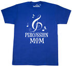 Inktastic Percussion Mom Marching Band Drumline Gift T-Shirt Camp Parent Drums