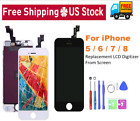 For iPhone 5, 6, 7, 8, X Plus LCD Display Touch Screen Digitizer Replacement Kit