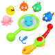 yop Bath Fishing Toys Bathtime Game with 6 Colorful Animals and 1 Fishing Rod 2