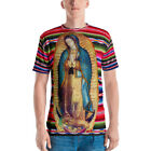 Our Lady of Guadalupe Virgin Mary Virgen Maria Zarape Uni-Sex T-shirt