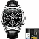 Fashion Watch Men Sport Quartz Leather Clock Watches Luxury Waterproof Business