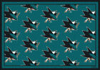 San Jose Sharks NHL Team Repeat Area Rug Milliken $124.0 USD on eBay