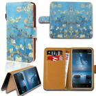 Leather Smart Stand Wallet Card Card Cover Case For Various Nokia Smart Phones
