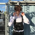Tactical Harness Chest Rig Bag Men Women Hip-Hop Radio W/Two Pockets Fanny Pack