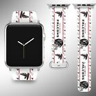 Atlanta Falcons Apple Watch Band 38 40 42 44 mm Series 1 2 3 4 Wrist Strap 04 on eBay