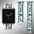 Philadelphia Eagles Apple Watch Band 38 40 42 44 mm Series 1 2 3 4 Wrist Strap 5 on eBay
