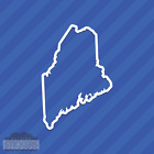 Maine Me State Outline Vinyl Decal Sticker