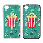 Popcorn Character - Rubber or Plastic Phone Case #2 - Movies Films Cinema Show