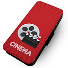 Cinema - Faux Leather Flip Phone Case #2 - Movies Films Cinema Show TV SciFi