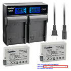 Kastar Battery LCD Rapid Charger for Canon LP-E8 LPE8 Canon EOS Rebel T4i Camera
