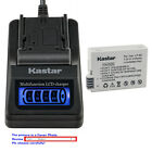 Kastar Battery LCD Quick Charger for Canon LP-E8 LC-E8 & Canon EOS 550D Camera