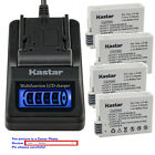 Kastar Battery LCD Quick Charger for Canon LP-E8 LPE8 Canon EOS Rebel T4i Camera